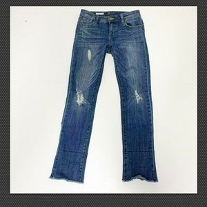Kut From The Kloth high rise destroyed jeans